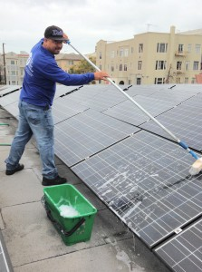 Solar Panel Cleaning A1 The Clear Choice
